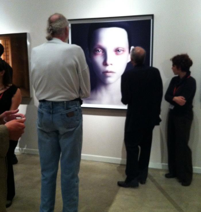 FotoFest 2012 /  Хьюстон / Предаукционная выставка: Олег Доу. Фото предоставлено куратором Ириной Чмыревой