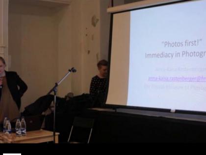 NPHE.RU / Видео лекции куратора Анны-Кайсы Растенбергер (Финляндия)