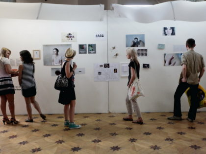 "The exhibition ""Young photography 2012 ½. Below the surface"""