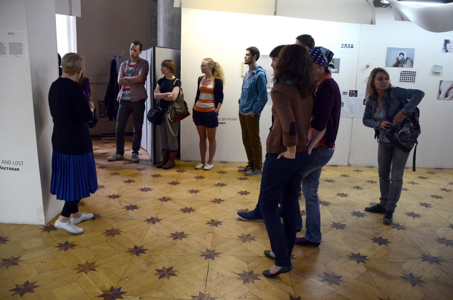 "Excursions on an exhibition ""Young photography 2012 ½. Below the surface"""