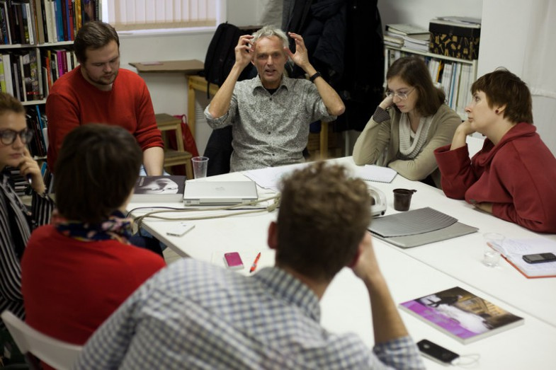 Workshop with curator Ulrich Haas-Pursiainen (Finland)