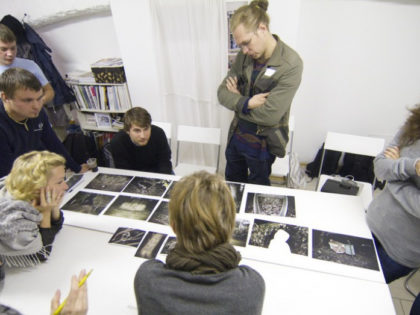 Workshop and meeting with Finnish photographer Arja Hyytiainen