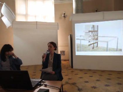 NPHE.RU/ Lectures of curator Charlotte Schwartz (Denmark)