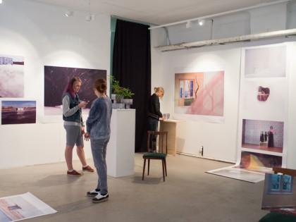 Видео об открытии выставки Юлии Бориссовой «ДОМ»