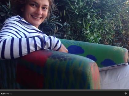 Artist-talk Татьяны Блиновой на открытие выставки «Dictionnaire Des Arts»