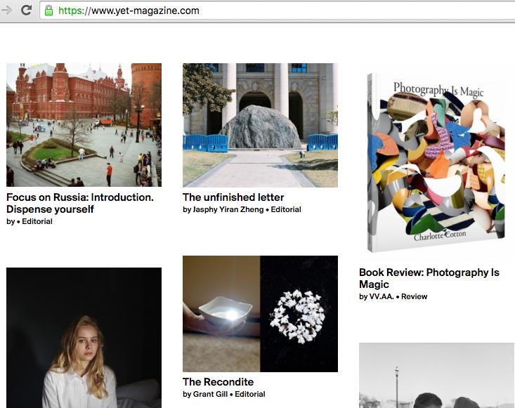 Открыла серию публикаций статья куратора галереи ФотоДепартамент Нади  Шереметовой о современном состоянии фотографических институций в России и  ... de0c74f240d
