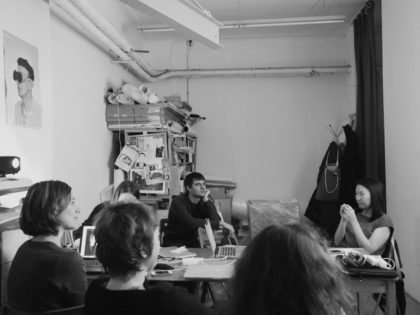 "A photo report from the workshop ""A detective, a scientist, and an artist, or how to work on the project"""